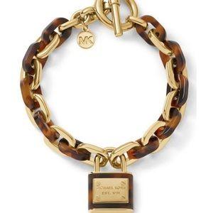Michael Kors Brilliance Padlock Chunky Bracelet